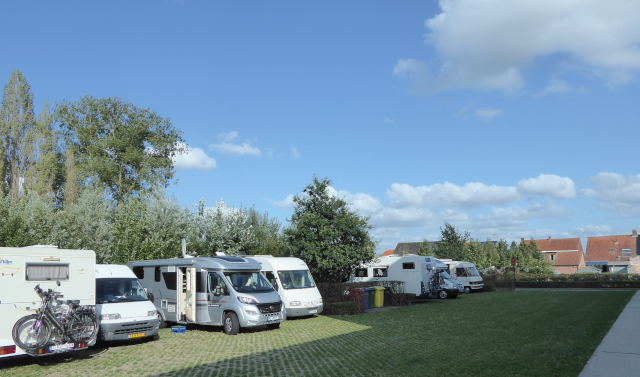 Langemark-Poelkapelle, àrea d'autocaravanes