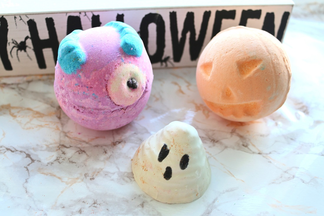 LUSH Halloween Collection Haul 2016 Boo, Monsters' Ball, Pumpkin