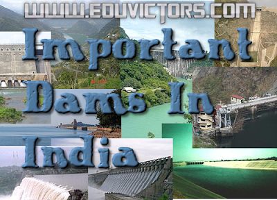 CBSE Class 9 - Geography - List of Important Dams In India (#cbsenotes)(#eduvictors)
