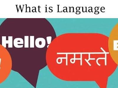 भाषा क्या होती है