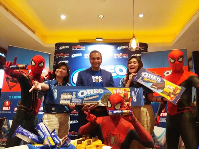 Oreo Hadirkan Keseruan bersama Spider-Man