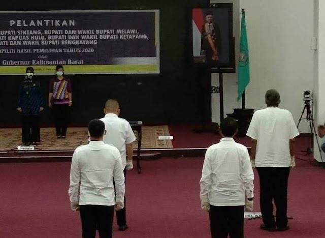 Bupati dan Wakil Bupati Sintang Terpilih Ikuti Gladi Bersih