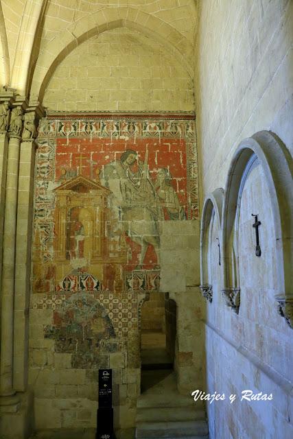 Nave del evangelio de la Catedral Vieja de Salamanca