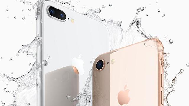 Cores e modelos do iPhone 8 Plus e 8 em Paris