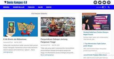 Saung blogger kampus