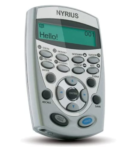 Nyrius LT12 12 Language Global Digital Talking Translator