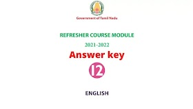 12th English Refresher Course Answer key Topic 20 Blended words