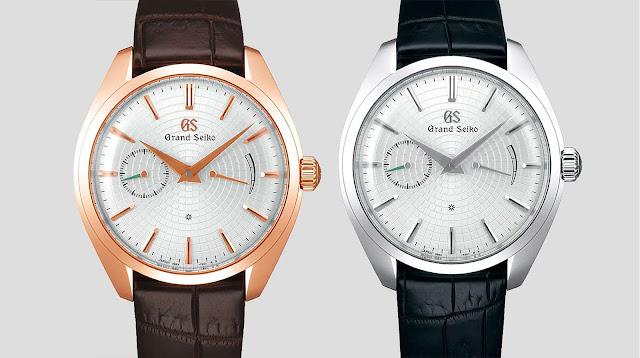 Grand Seiko Boutique Paris Vendôme Limited Editions SBGK011G and SBGK013G