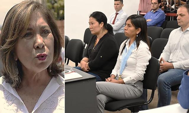 Martha Chávez sobre Keiko Fujimori
