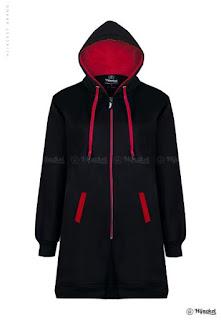 Hijacket Basic Black x RED (HJ21)