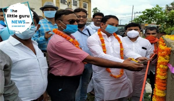 ढाका विधायक ने किया 50 बेडों वाले अस्पताल का शिलान्यास
