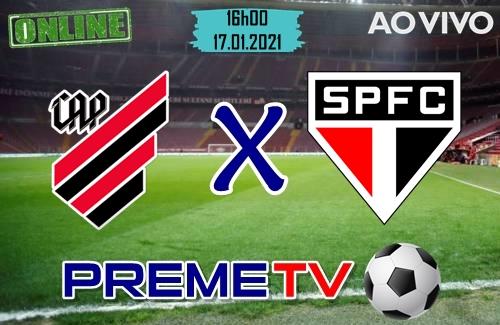 Athletico-PR x São Paulo Ao Vivo