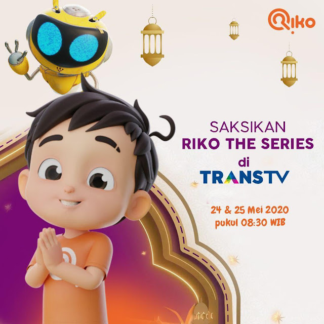 Riko The Series Tayang di Trans TV | Animasi Anak Islami