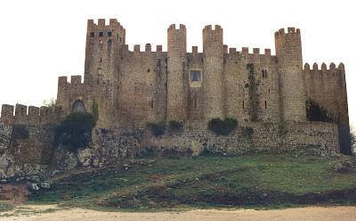 Óbidos. Portugal. Muralla. Castillo. Muralla. Castelo. Castle. Château