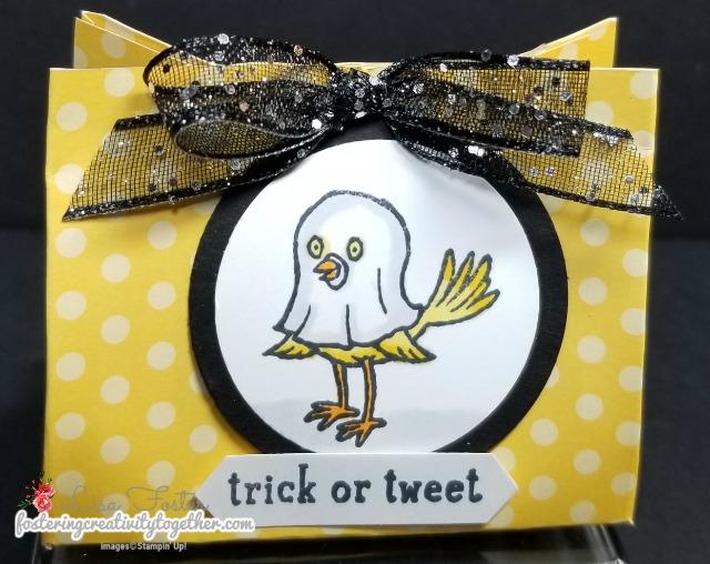 Trick or Tweet, Halloween, Goody Bags, Stampin Up