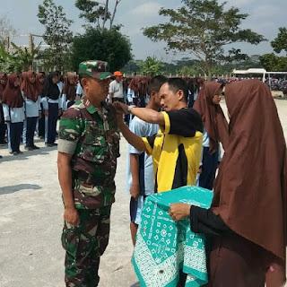 Penutupan Latihan Dasar Kepemimpinan dan Pendidikan Bela Negara (LDK - PBN) SMK Boedi Oetomo 2 Gandrungmangu
