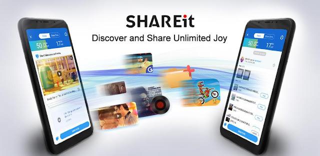 تحميل برنامج SHAREit  - برنامج سريع و ممتاز لنقل واستقبال الملفات لهواتف الاندرويد والكمبيوتر