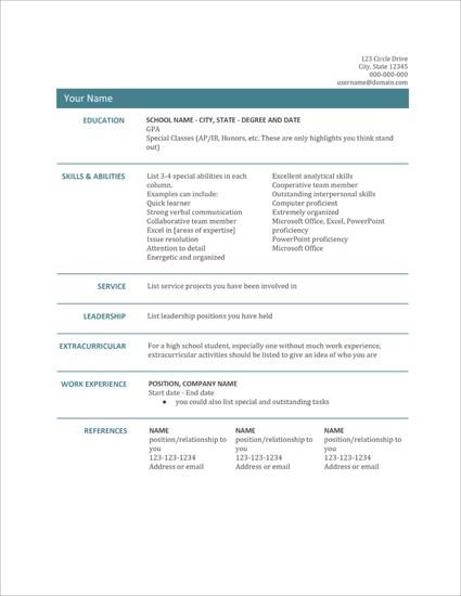 Template Riwayat Hidup Format Microsoft Office Word Versi 19