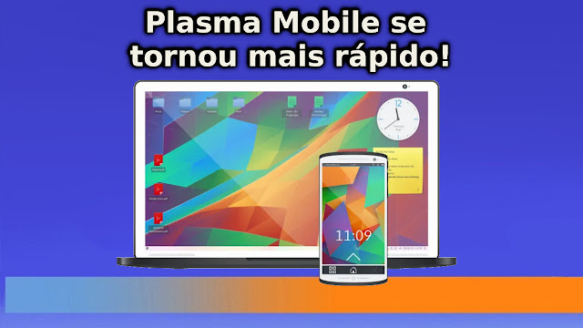 Alternativa ao Android Plasma Mobile está mais rápido