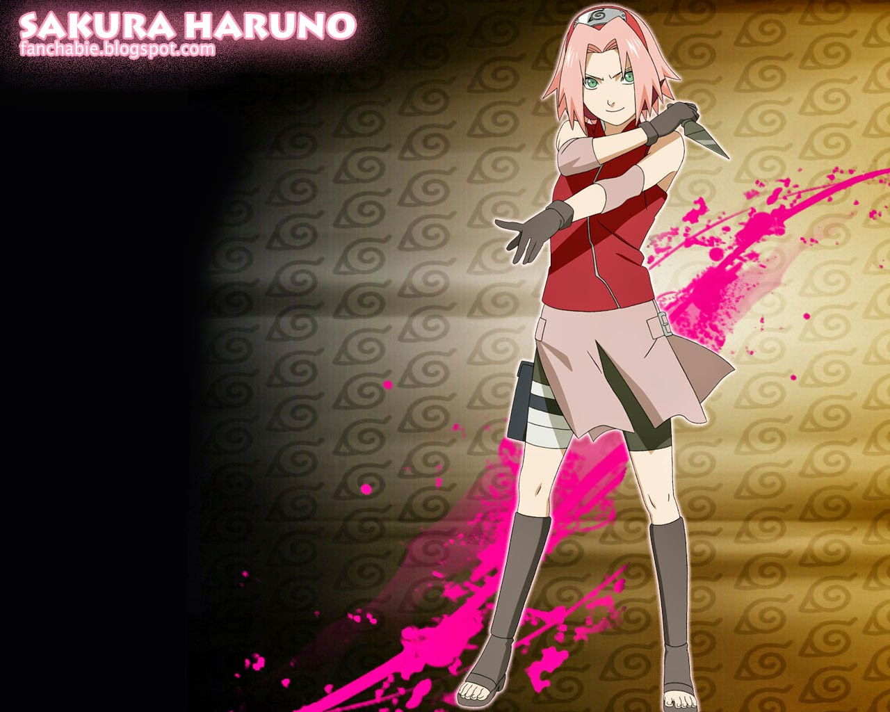 Nice wallpaper from Sakura Haruno