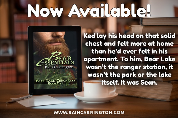Ked lay his head on that solid chest and felt more at home than he'd ever felt in his apartment. To him, Bear Lake wasn't the ranger station, it wasn't the park or the lake itself. It was Sean.