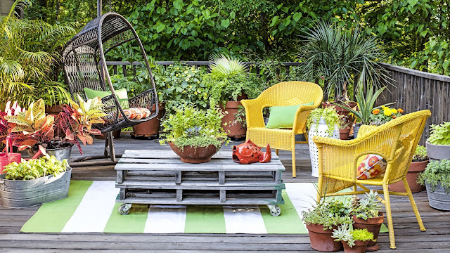Home Living Room Decor Ideas For The Garden  And Green Lovers