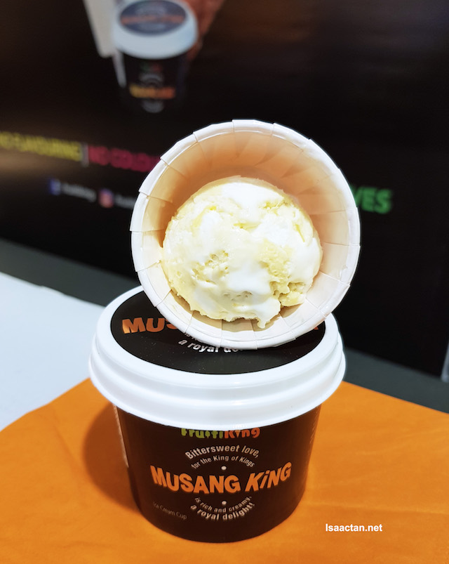 Musang King Durian ice creams, yes please!