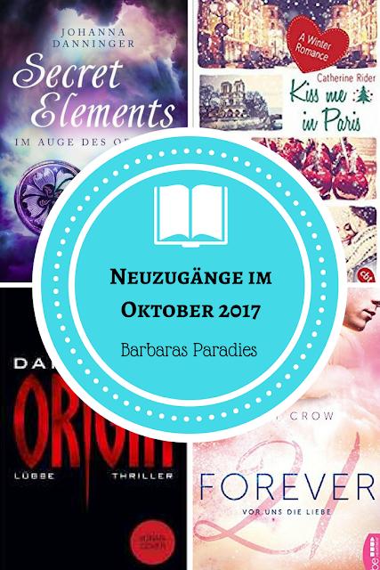 Neuzugänge im Oktober 2017