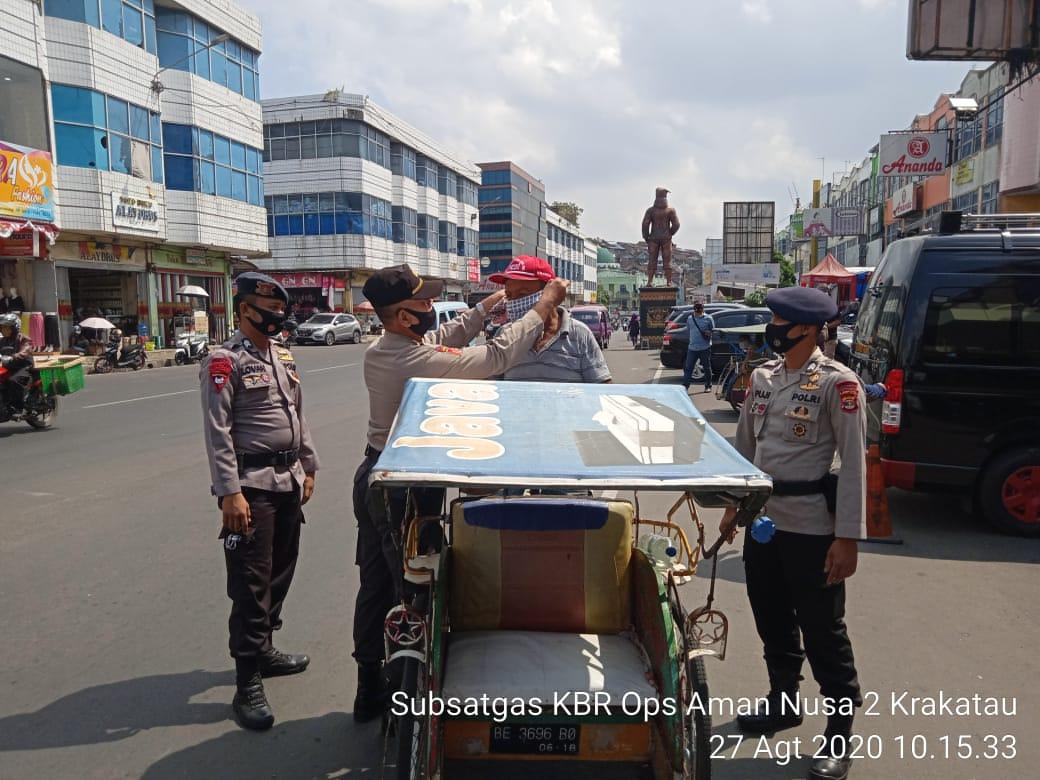 Penegakan Hukum oleh Subden KBR Detasemen Gegana Lampung Dalam Rangka Pencegahan Covid 19 Provinsi Lampung