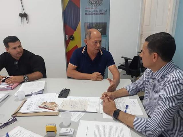 Deputado Coronel Chrisóstomo reafirma compromisso com Guajará-Mirim