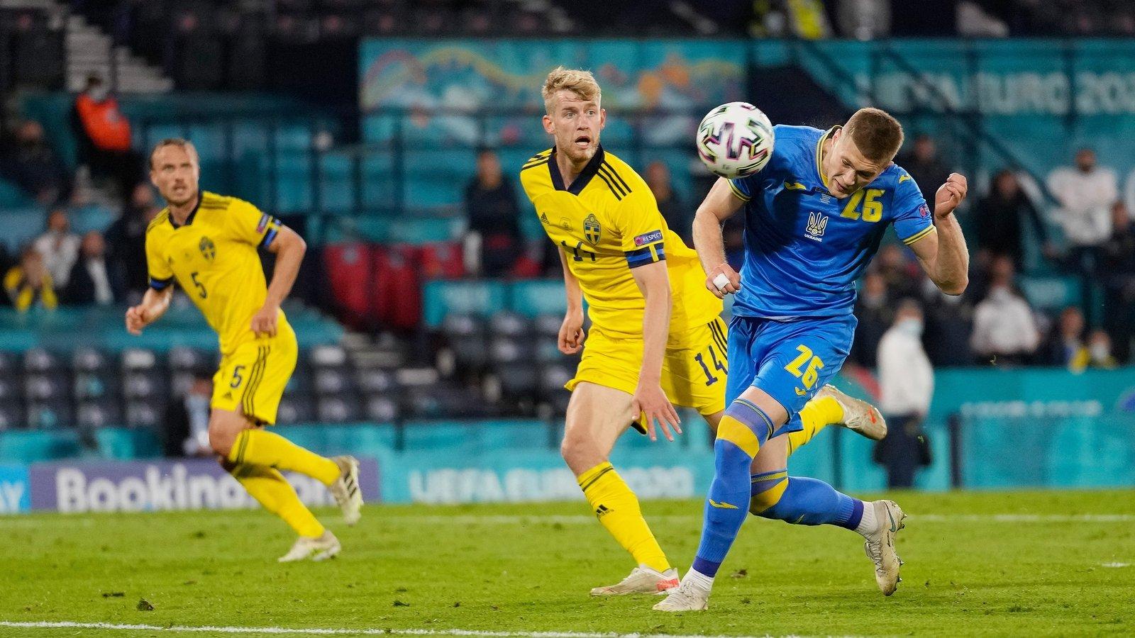 اهداف مباراة السويد واوكرانيا اليوم