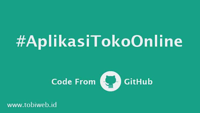 Source Code Aplikasi Toko Online Dengan Framework CodeIgniter