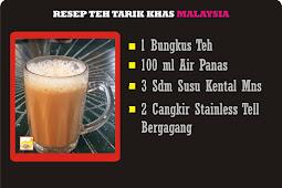 Resep dan Cara Membuat Teh Tarik Khas Malaysia