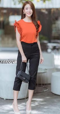 pastel color combination dress styles
