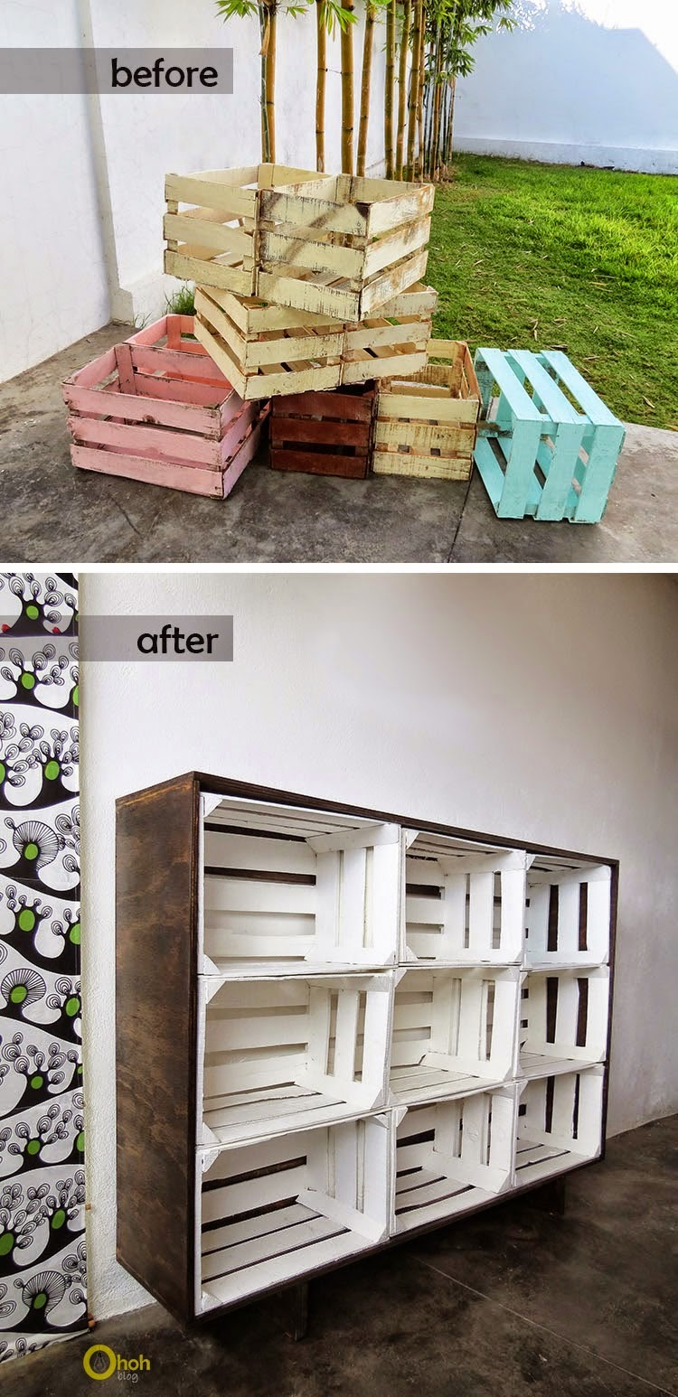 How To Build A Wood Crates Storage