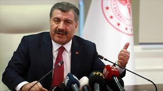 وزير الصحة التركي: لم يتم تشخيص كورونا بالركاب العائدين من إيران