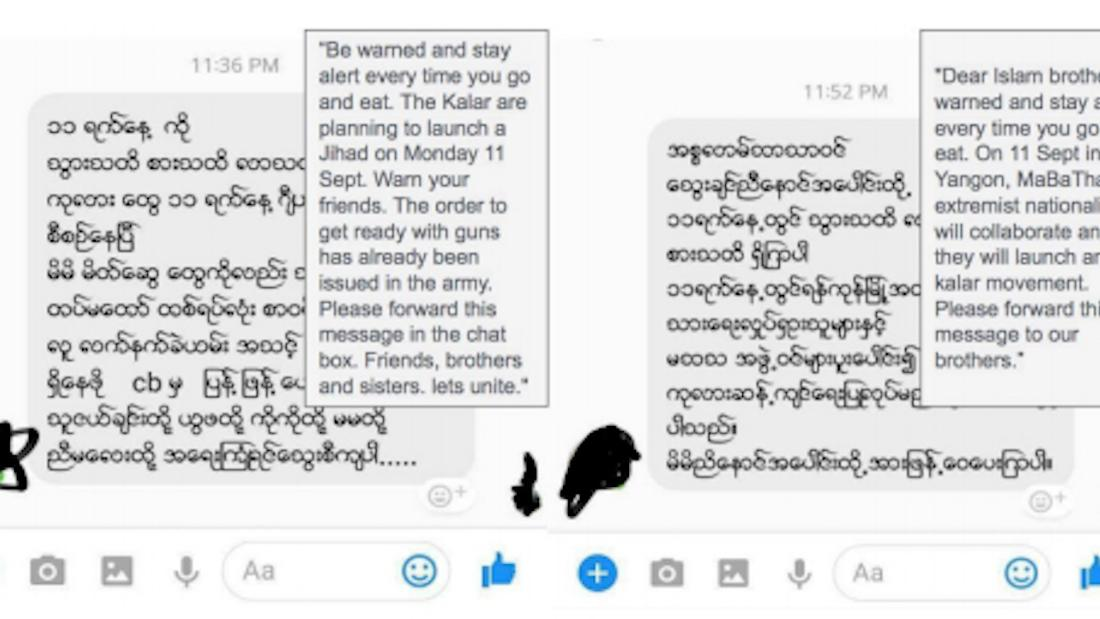 Rohingya Blogger: When Facebook becomes 'the beast': Myanmar