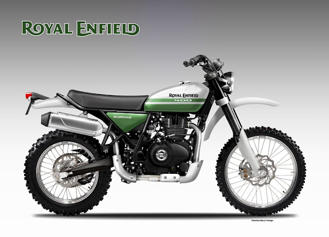 Royal Enfield Gurkha 400