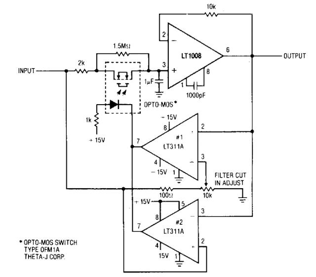 Build a Low pass filter Circuit Diagram | circuit harness