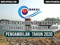 Jawatan Kosong Terkini di Badan Kawal Selia Air Negeri Johor