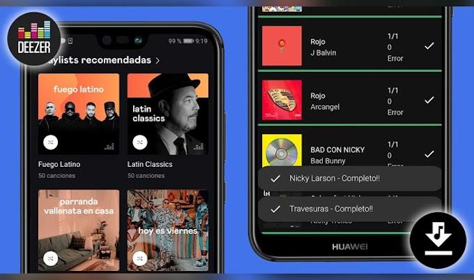 Nuevo Deezloader Remix APK   Descargar Musica 320kbps + Caratulas