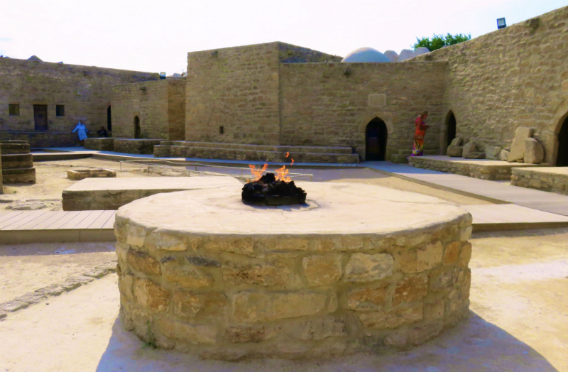 Fire Temple in Ateshgah