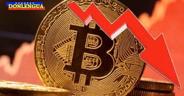 INDETENIBLE   Precio del Bitcoin se siguió desplomando y ahora la Crypto vale 50% menos