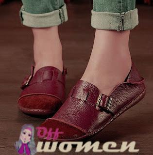 وقاية حذاء الجلد من التجاعيد