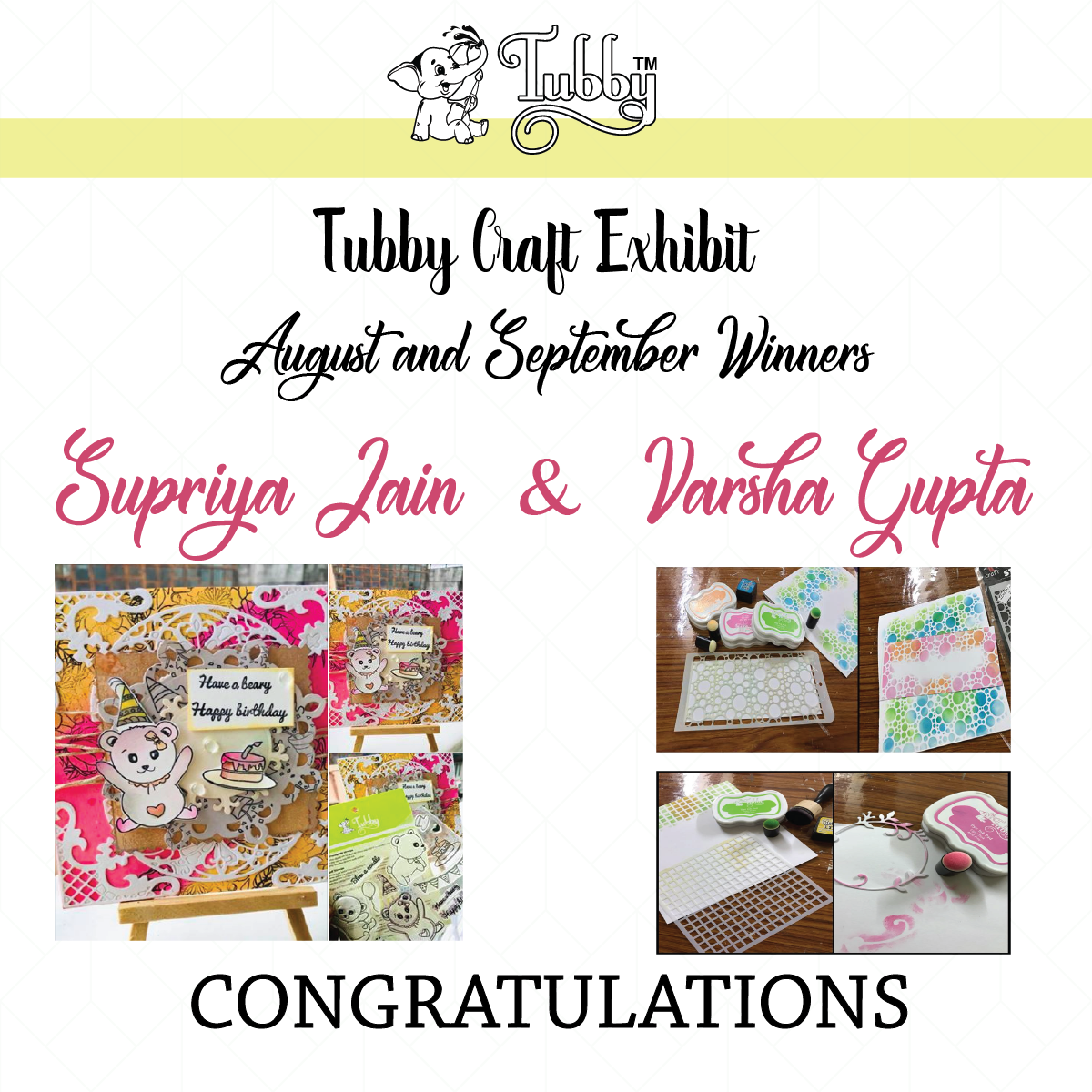Tubby craft exhibition winner