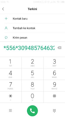 Cara Memasukan Voucher Indosat IM3 Ooredoo
