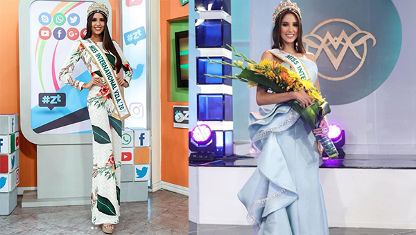 Isbel Cristina Parra Santos es Miss International Venezuela 2020