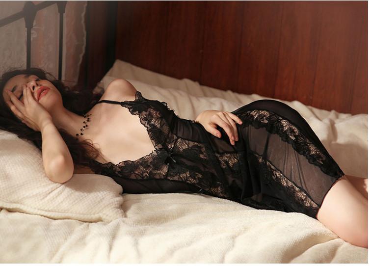 Đầm ngủ quyến rũ say mê 6