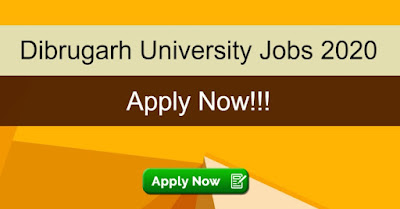 Dibrugarh University Sarkari Naukri In Assam 2020: Recruitment for Senior Research Fellow Vacancies - Apply Now On Sarkari Jobs Adda