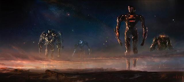 Celestials cv Thanos